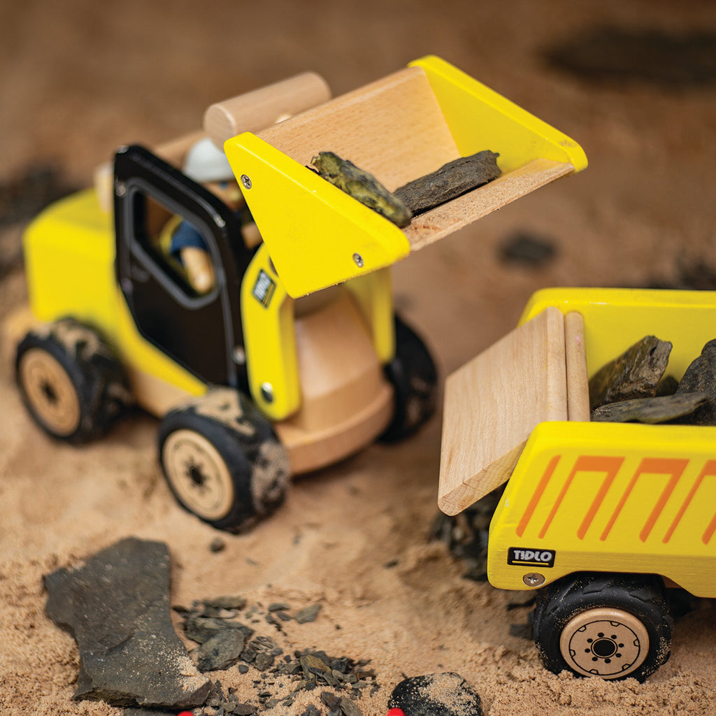 Tidlo Wooden Front End Loader
