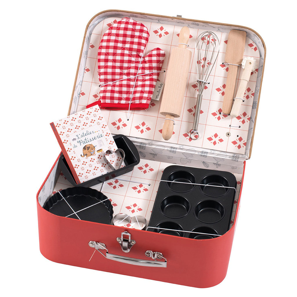 Moulin Roty Suitcase - Baking Gift Set