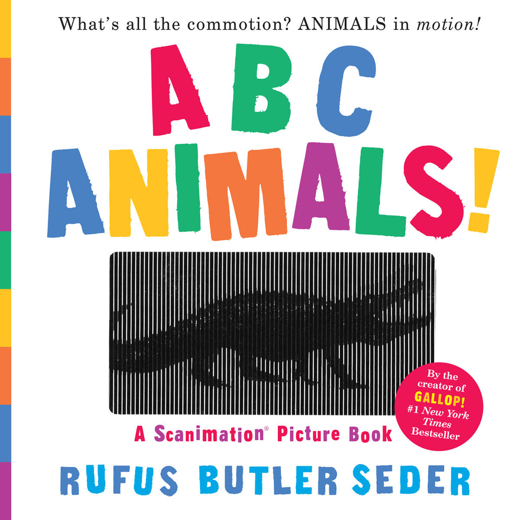ABC Animals (Scanimation Book) Front Cover BOOK77821