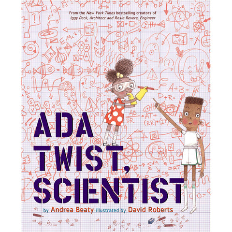 Ada Twist Scientist Front Cover BOOK21373