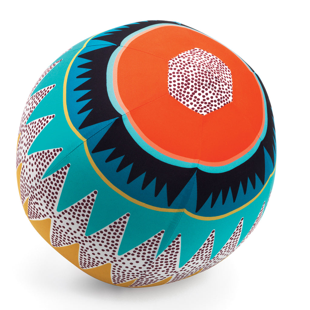 Graphic Large Indoor Ball By Djeco