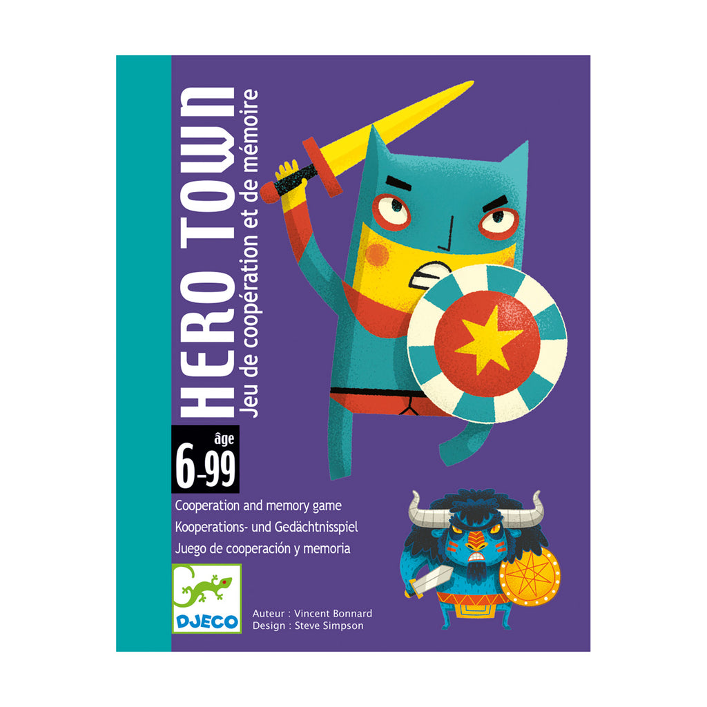 Hero Town Card Game By Djeco