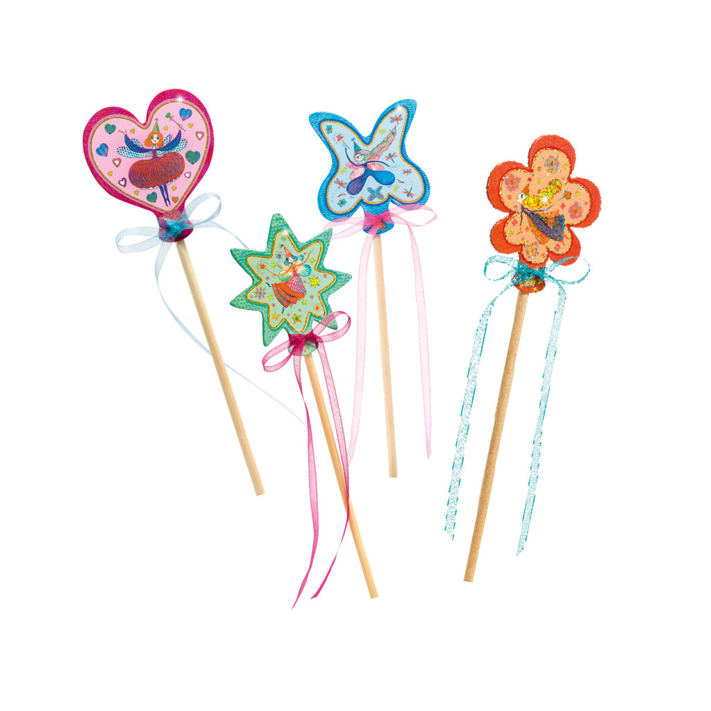 DIY Magic Wands - Little Fairies