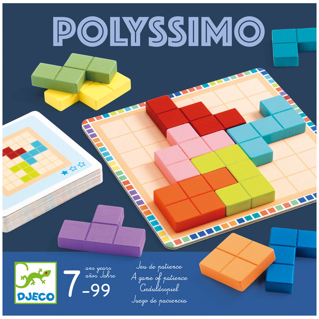 Polyssimo Brain Game By Djeco