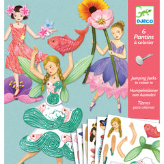 Djeco Crafts - Fairies Jumping Jack