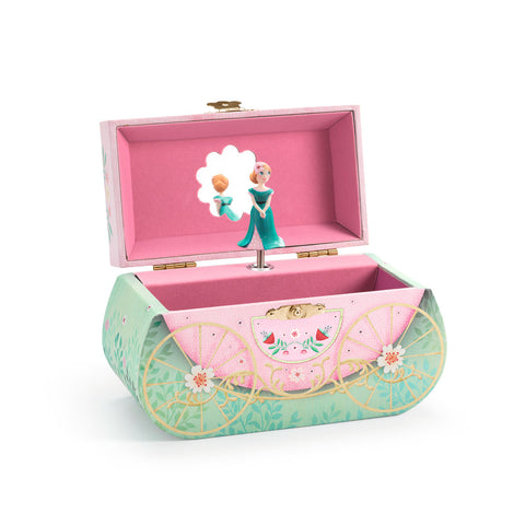 Djeco Bedroom - Carriage Ride Jewellery Box