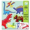 Image of Djeco Art- Dinos Jumping Jacks Packaging Box DJ09680