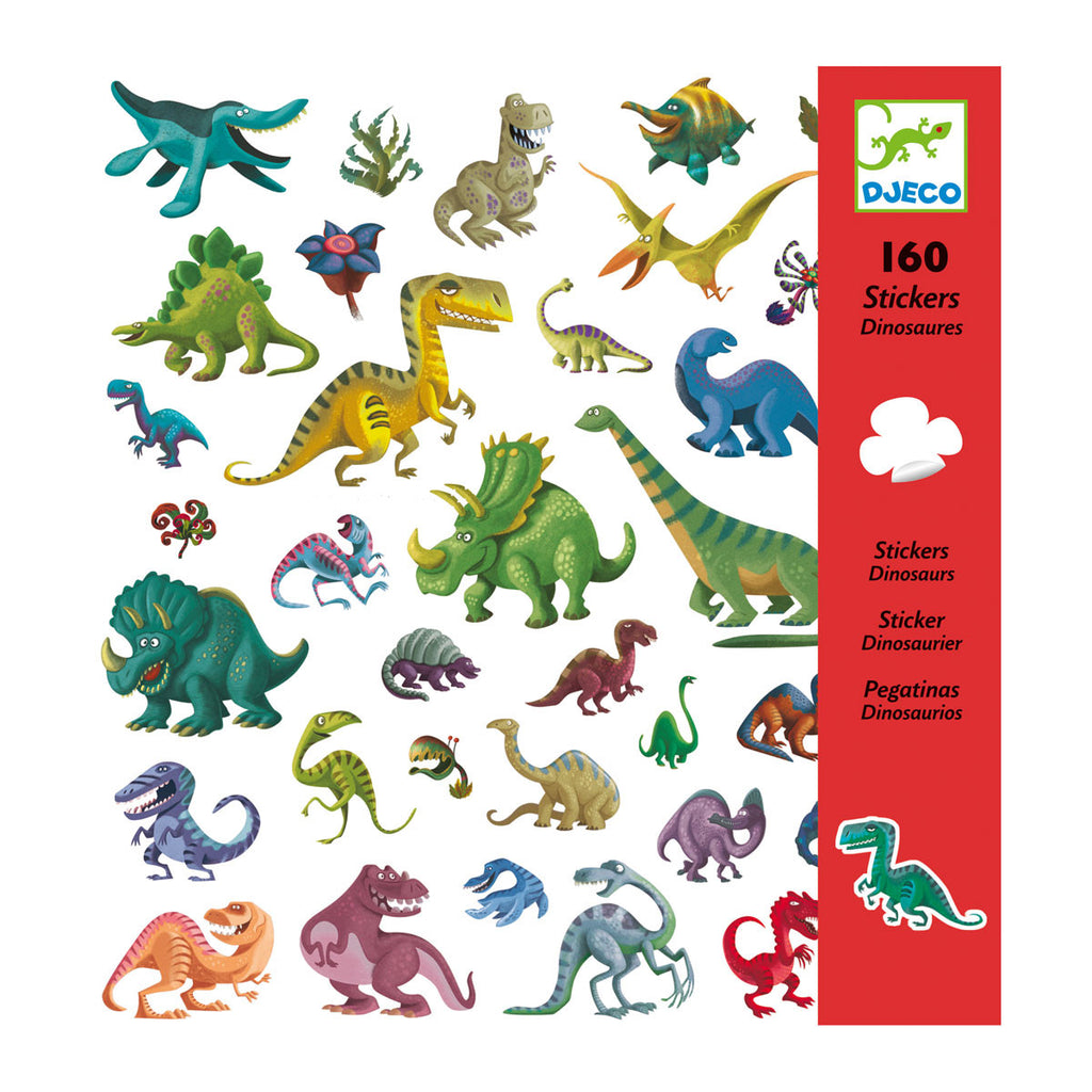 Djeco Art- Stickers - Dinosaurs Box DJ08843