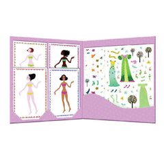 Djeco Art- Paper Dolls - Dresses through the Seasons DJ09690