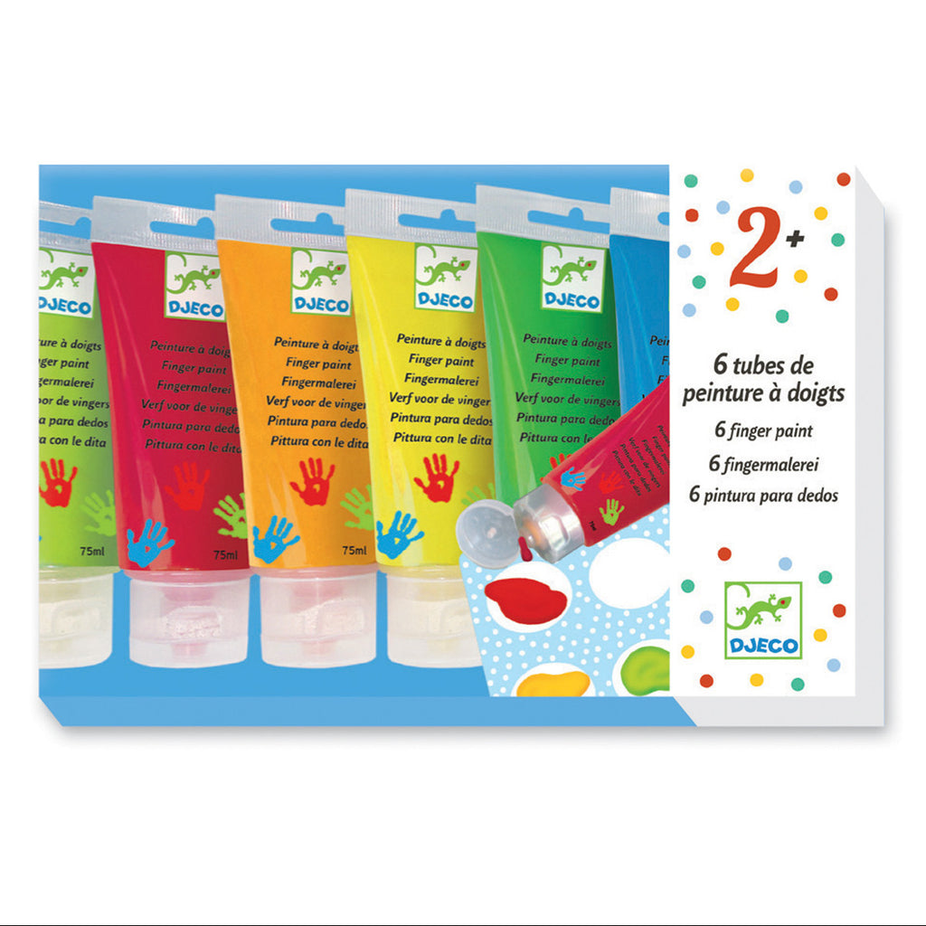 Djeco Art - Finger Paint Tubes Packaging DJ08860