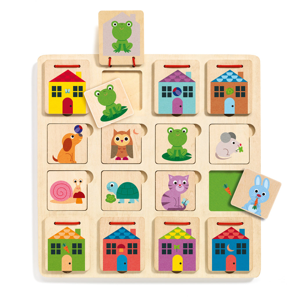 Djeco Wooden Toy - Cabanimo