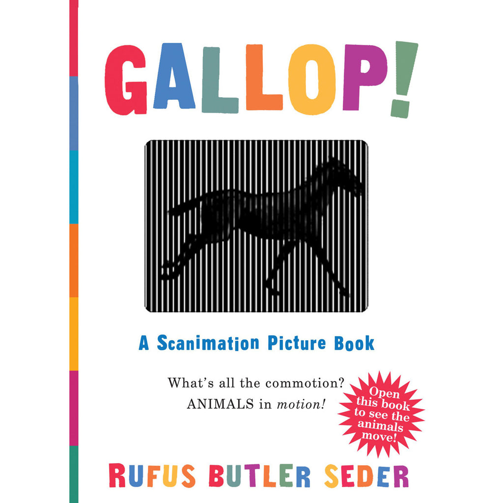 Gallop Scanimation Picture Book Front Cover BOOK47633