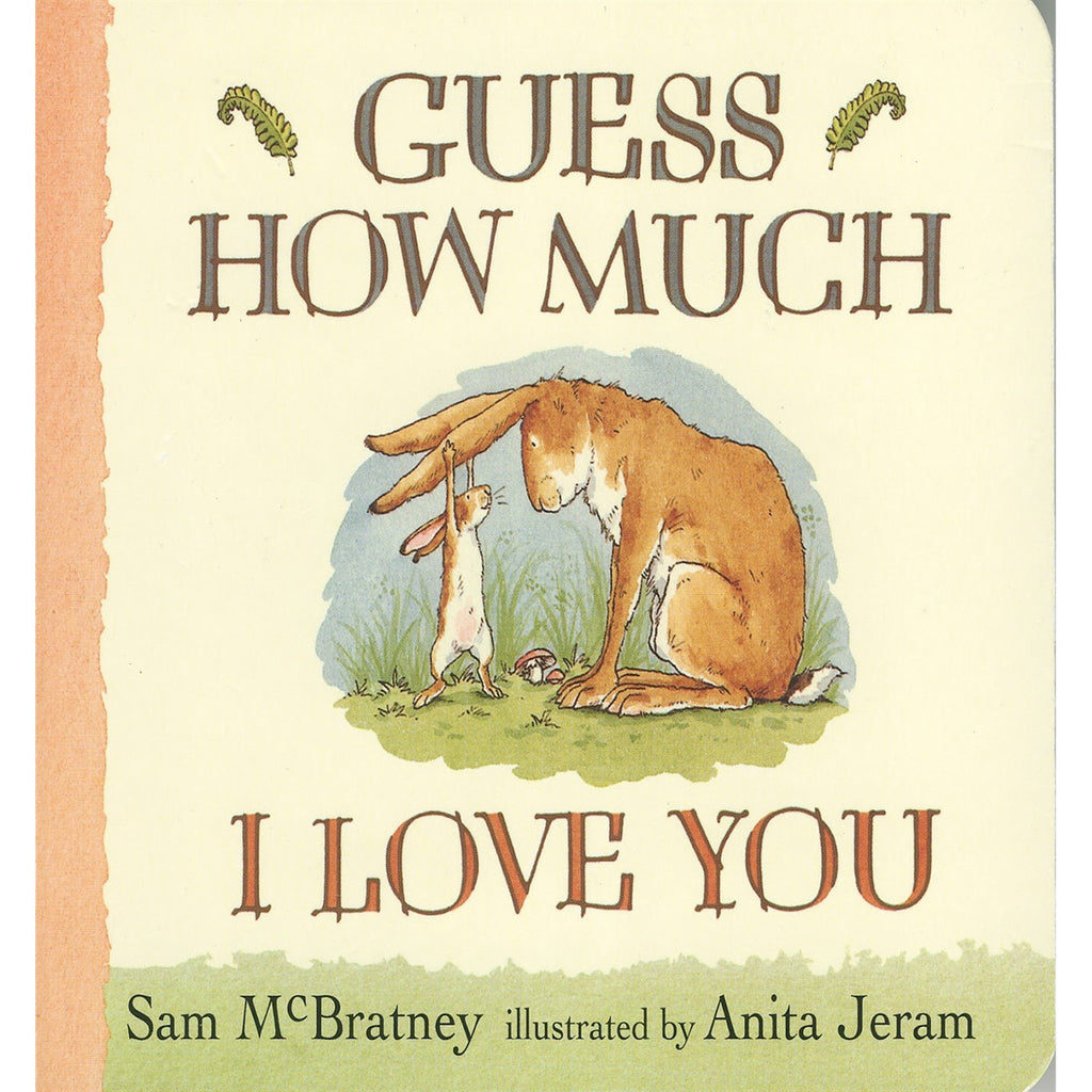 Guess How Much I Love You Book Front Cover BOOK58780