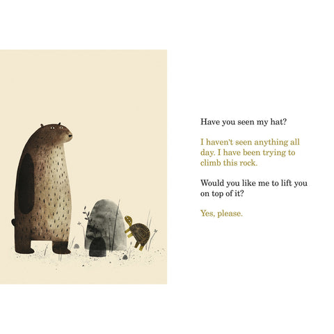 I Want My Hat Back Book Bear and Turtle BOOK38539