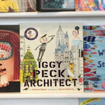Iggy Peck Architect Book-BOOK11062