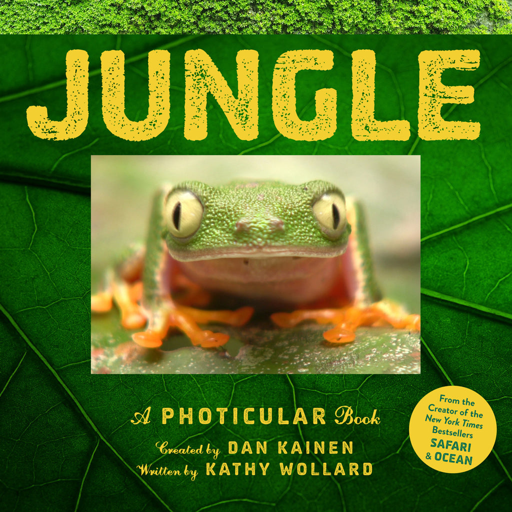 Jungle: A Photicular Book Front Cover BOOK89534