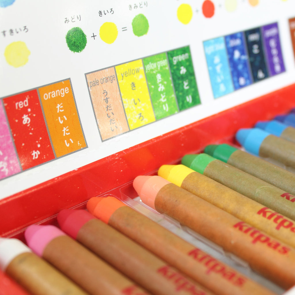 Kitpas Medium Crayons 16 Colours