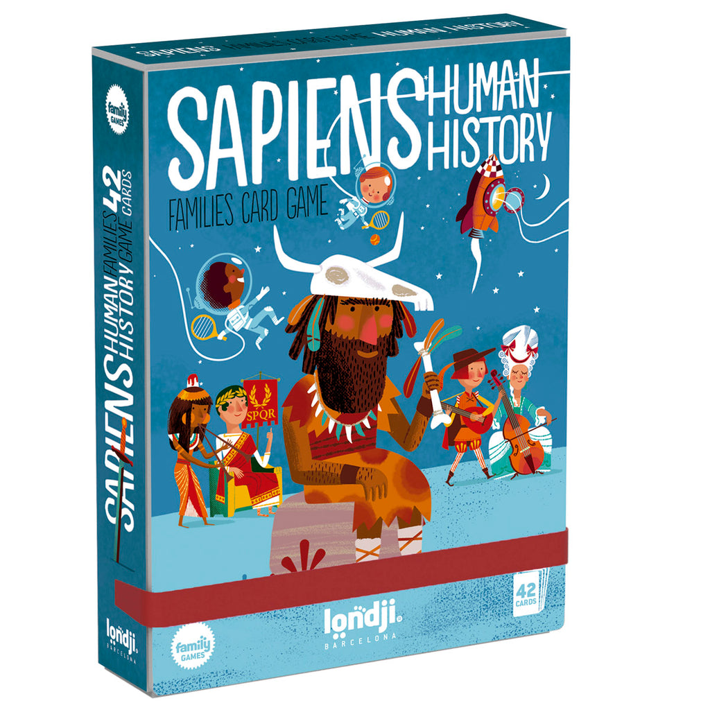 Sapiens - Human History Happy Families by Londji