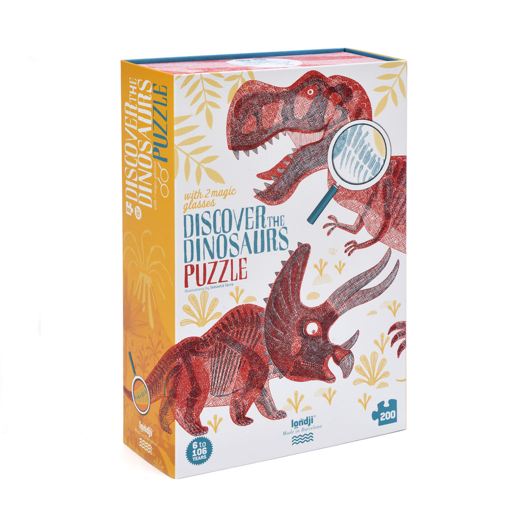 Discover The Dinosaurs Puzzle - Londji