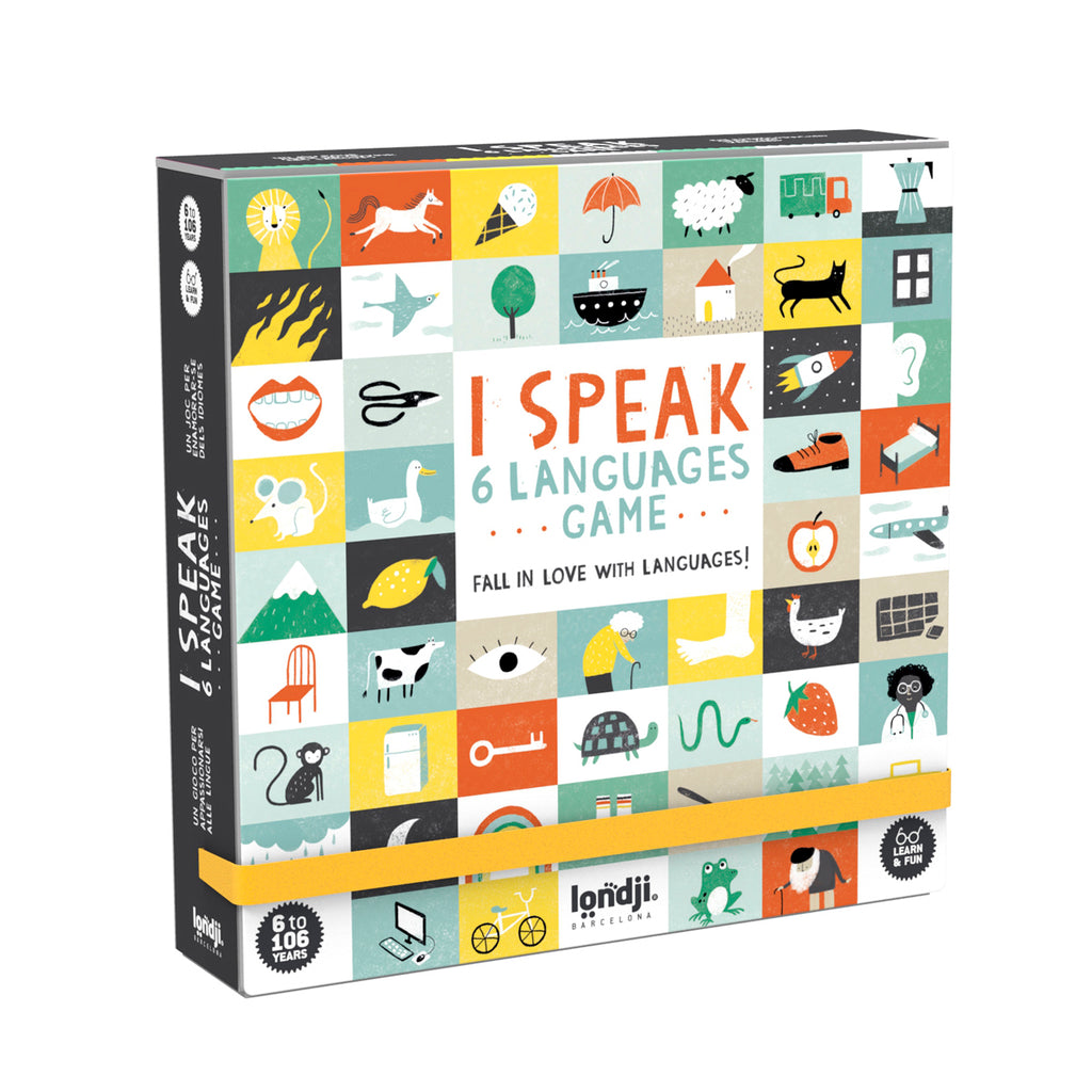 I Speak 6 Languages Game by Londji