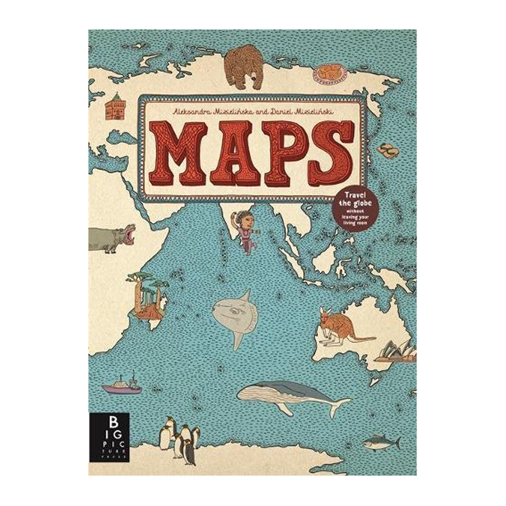 Maps Book Front Cover BOOK73011