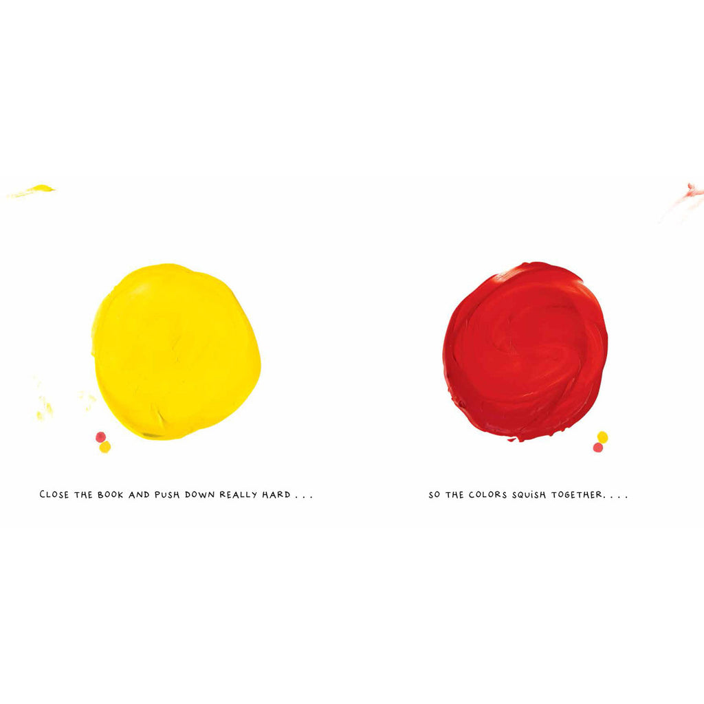 Mix It Up Book Yellow and Red Colour Spots Page BOOK40575
