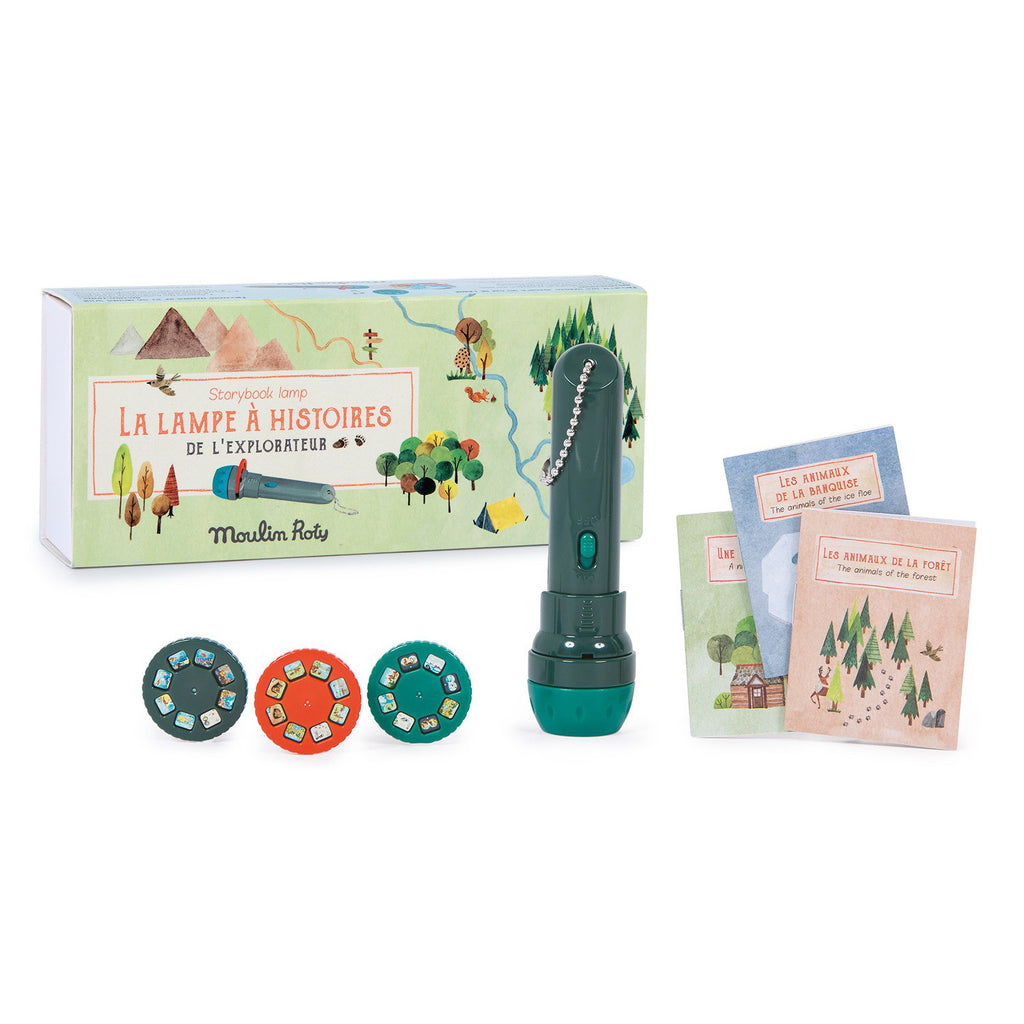 Moulin Roty L'Explorateur Storybook Torch Gift Set
