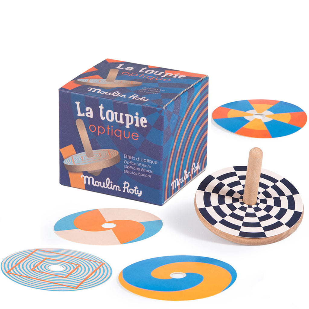 Moulin Roty Optical Illusion Spinning Top