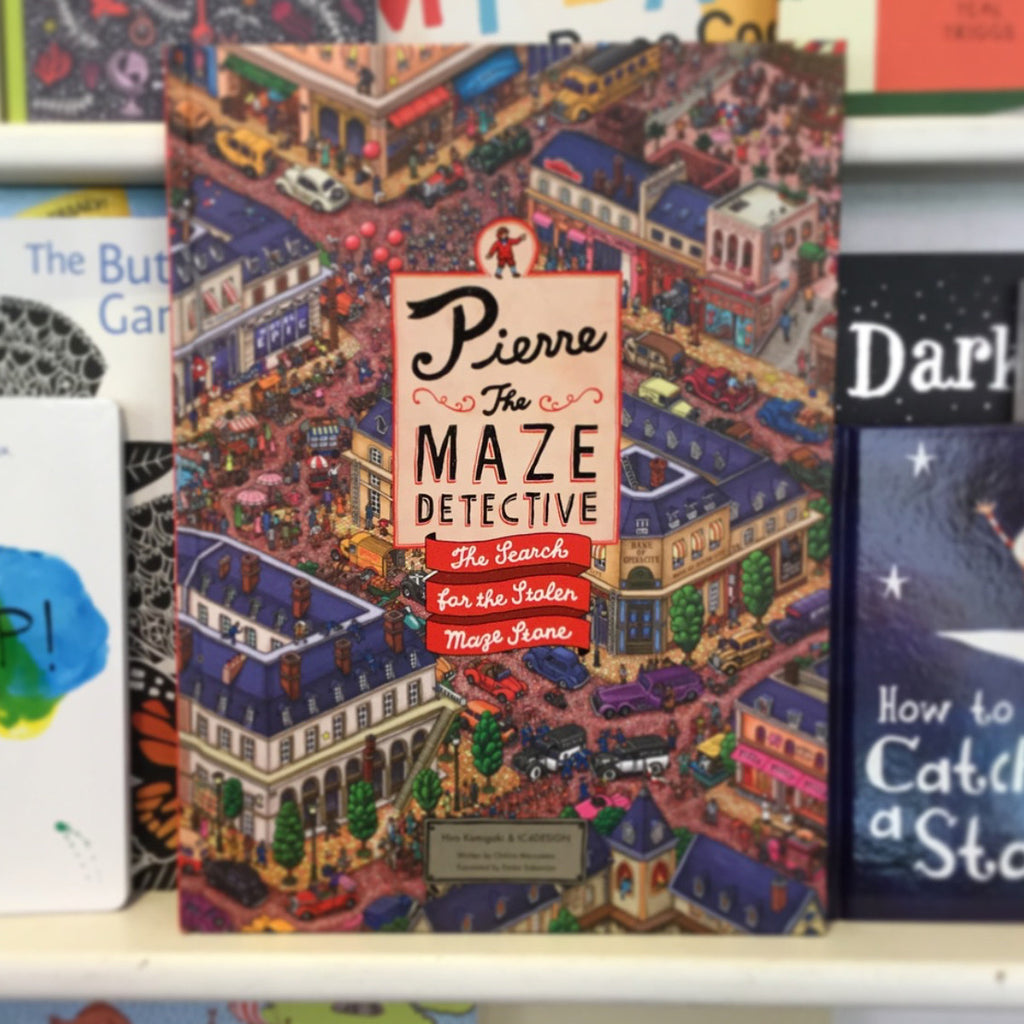 Pierre The Maze Detective Book on Shelf BOOK75633