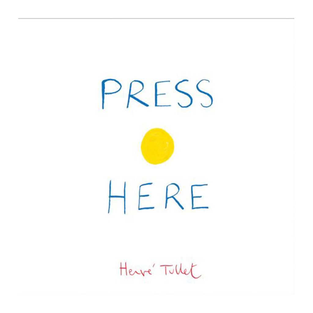Press Here Book Front Cover BOOK79545