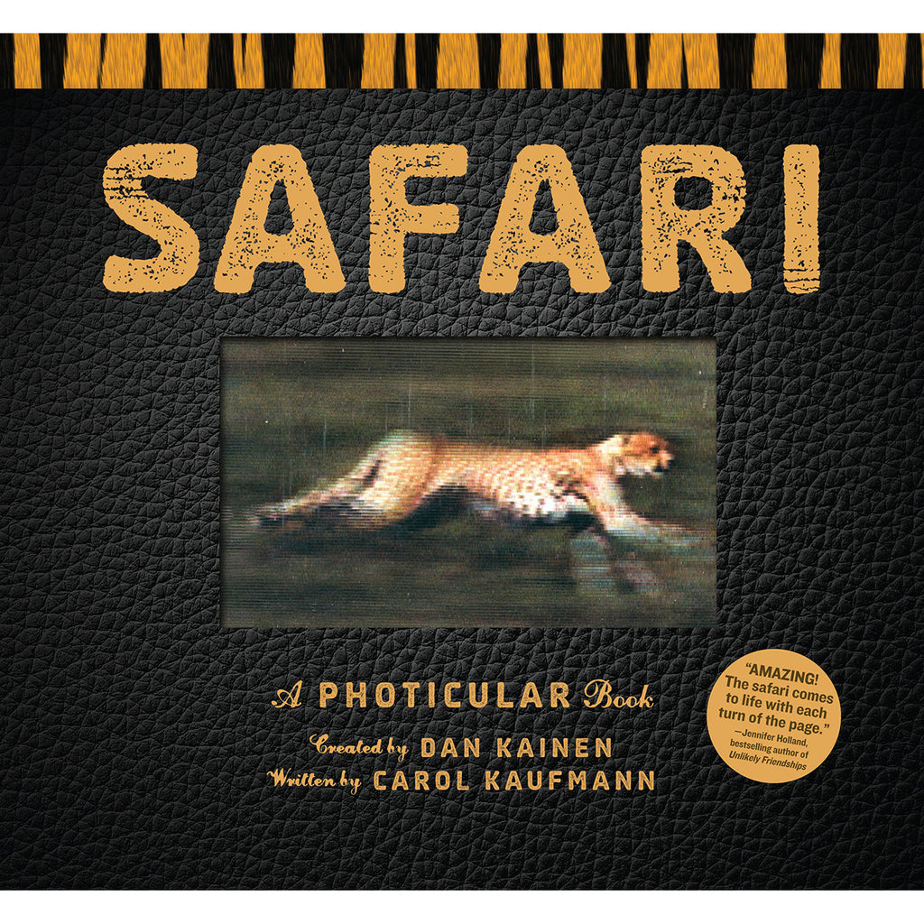 Safari: A Photicular Book Front Cover BOOK63800