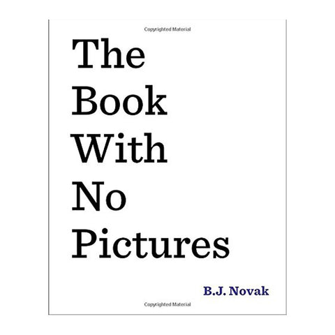 Book With No Pictures Front Cover BOOK61796