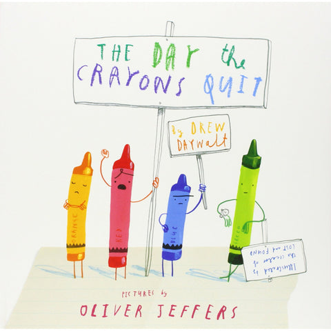 Day The Crayons Quit Book Front Cover BOOK67820