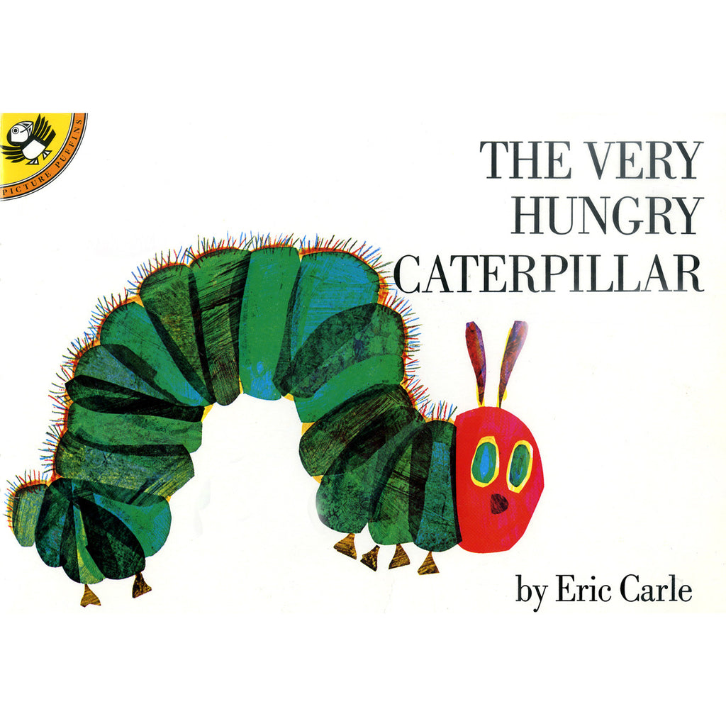 The Very Hungry Caterpillar Book Front Cover BOOK03008