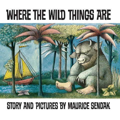 Where The Wild Things Are Book Front Cover BOOK08390
