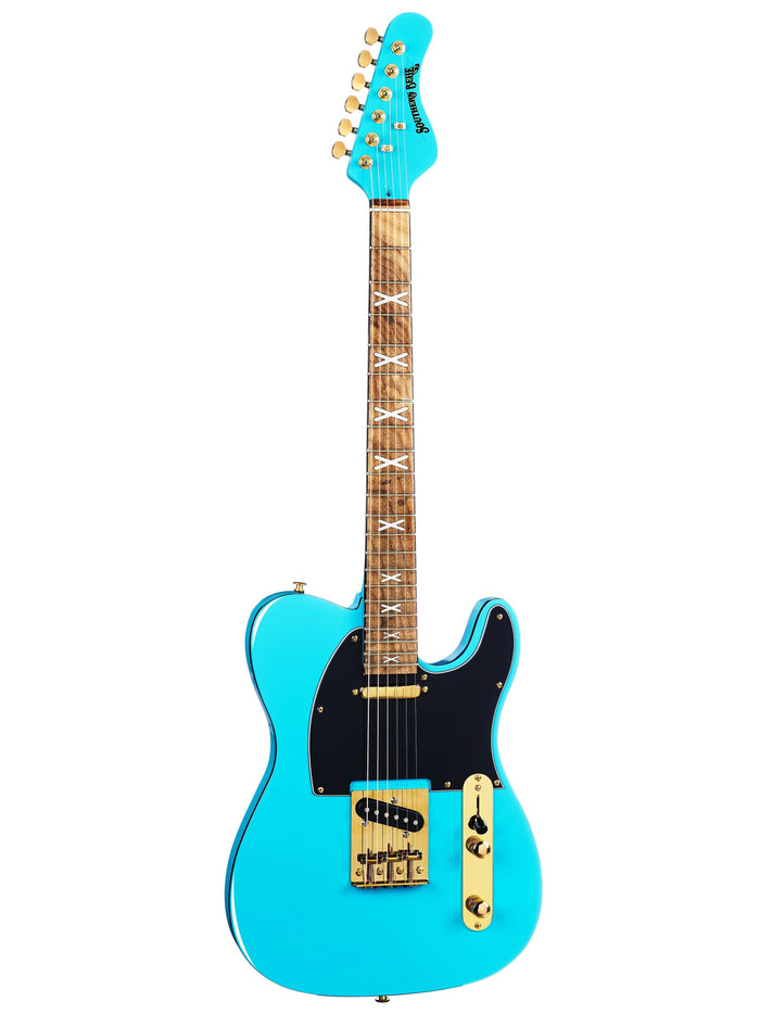 CLEARANCE! KUSTOM SERIES 13: SOUTHERN BELLE - SCUBA BLUE + GOLD🔥ONLY 3 LEFT!