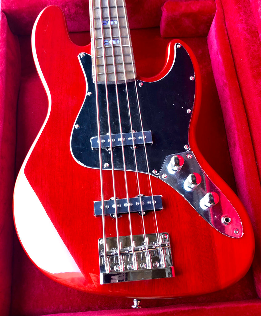 CLEARANCE! KUSTOM SERIES 15: BOMBSHELL BASS - CHERRY BOMB🔥