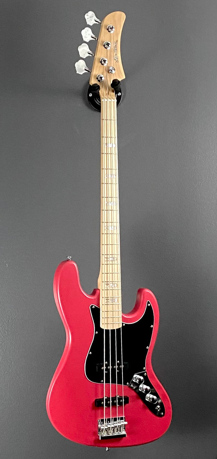 Clearance • Kustom Series 23: 4 String Bombshell Bass - Flamingo