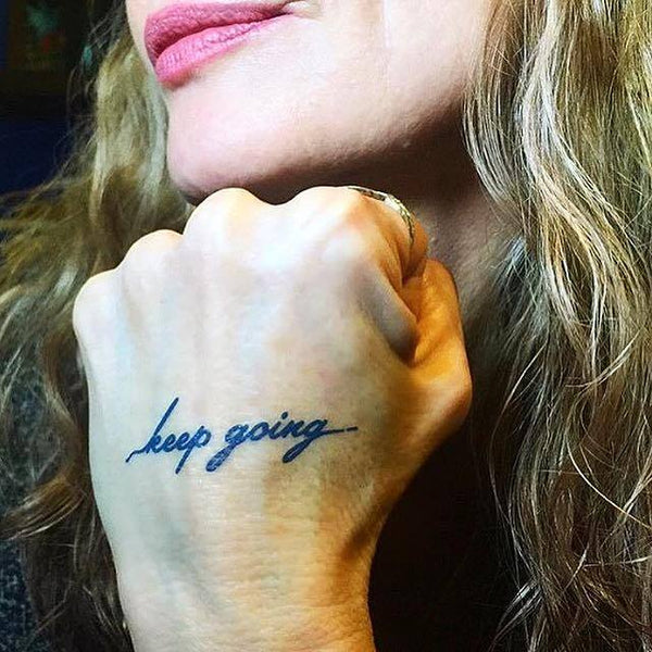 FEATURED INK: Keep Going