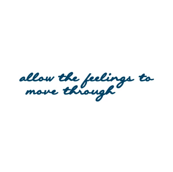 FEATURED INK: Allow The Feelings To Move Through