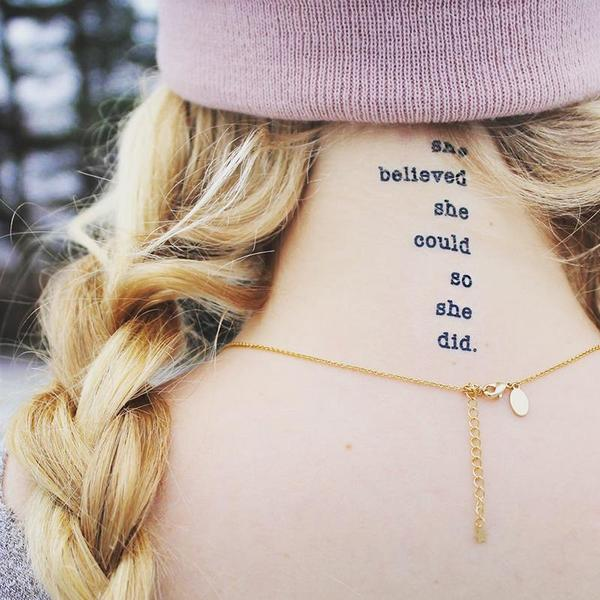 FEATURED INK: She Believed She Could So She Did