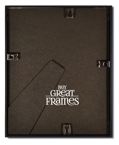 Frosted Black Metal Picture Frames And Clear Glass Buy Great Frames