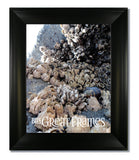 Metro Black Picture Frame with Clear Glass