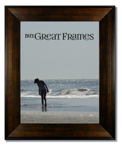 Metro Bronze Picture Frame with Clear Glass