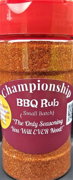 Championship Barbecue BBQ Rub Best Dry Rub