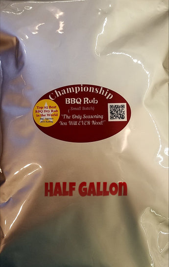Championship Barbecue dry rib Rub