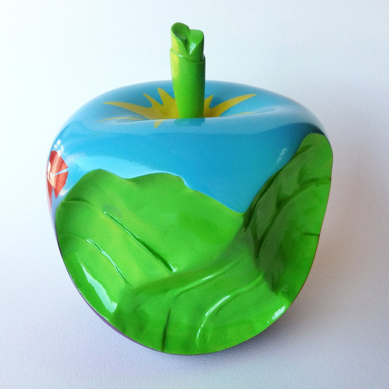 Apple - Resin (green) (FHK)