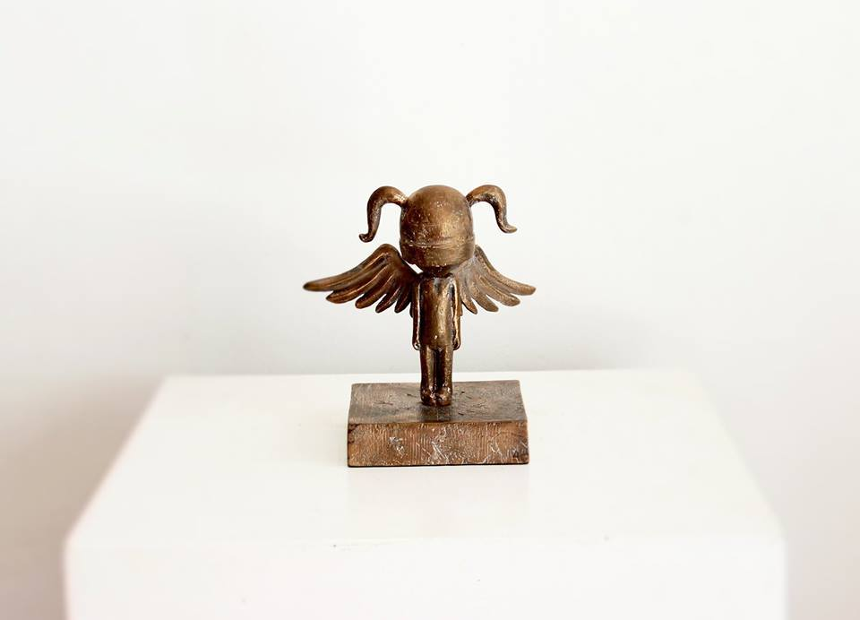 Art Gallery - Angel Girl - Bronze (FH)