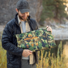 Arcturus XL Survival Blanket 8.5' x 12' - Woodland Camo