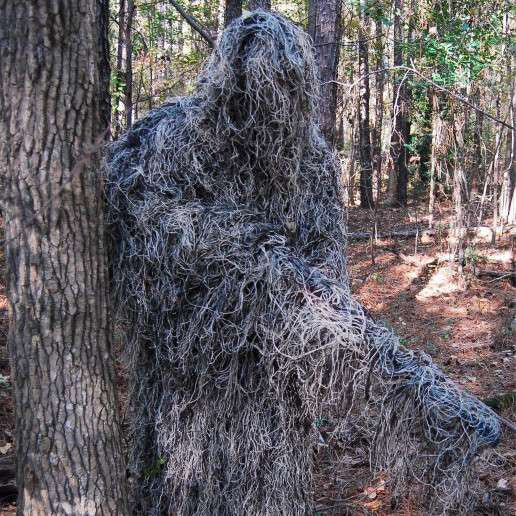 Ultra Light Ghillie Poncho Mossy